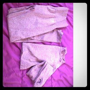 Gymshark dusty pink vital seamless